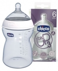 CHICCO бутылочка пласт. 330 мл, для каш STEP UP 3
